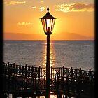 Sunrise in the lamplight....... by Sarah-jane Monro