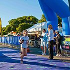 Kingscliff Triathlon 2011 Finish line B5896 by Gavin Lardner