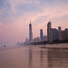 Surfers Paradise Beach by D Byrne