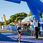 Kingscliff Triathlon 2011 Finish line B5900 by Gavin Lardner