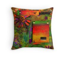 Just Asking for a Smile Throw Pillow