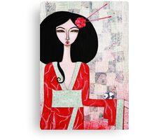 Suki Canvas Print