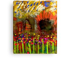 Uh Oh... There's a Woman in my Garden! Canvas Print