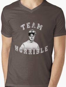 TEAM HORRIBLE Mens V-Neck T-Shirt