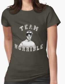 TEAM HORRIBLE Womens Fitted T-Shirt