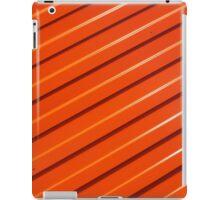 Orange metal corrugated sheet metal iPad Case/Skin