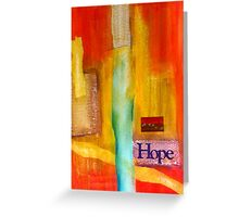 Windows of HOPE Greeting Card