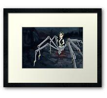 Cybernetic Spider Framed Print