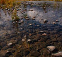 Teton Mountains and River Sticker