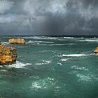 Menacing Ocean by Heather Prince