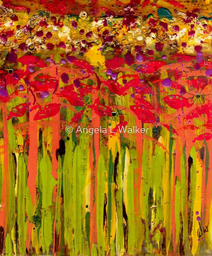 More Flowers in the Field by © Angela L Walker