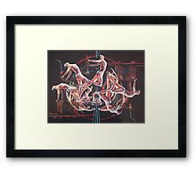 Patterns of Dance  Framed Print