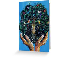 Gaia-Tree of Life Greeting Card