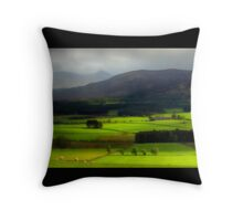 Flanks of Morven Throw Pillow
