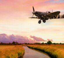 Spitfires Return Sticker