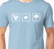 Squirrel. Nut. Tree. Unisex T-Shirt