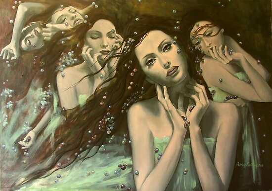 Glissando - World of illusions  by dorina costras
