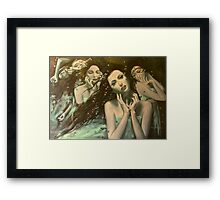 Glissando - World of illusions  Framed Print