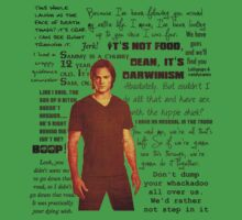 Sam Winchester quotes One Piece - Short Sleeve