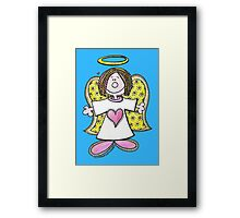 Hey Angel Baby! Framed Print