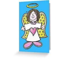 Hey Angel Baby! Greeting Card