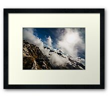 Dramatic Clouds Framed Print