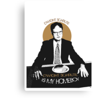 Dwight Schrute, The Office USA.   Canvas Print