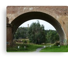 Goulburn Viaduct, Mulwaree Ponds Canvas Print