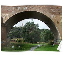Goulburn Viaduct, Mulwaree Ponds Poster