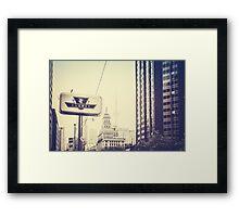 Toronto II Framed Print