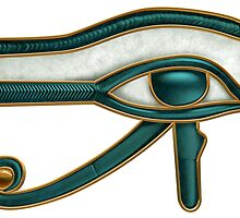 Egyptian Eye of Horus by Paul Fleet