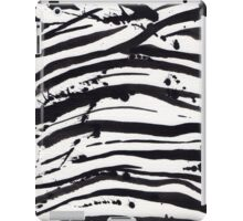 zebra stamp iPad Case/Skin