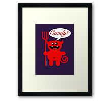 CANDY? Framed Print