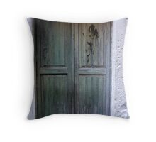 Keeping you Out Throw Pillow
