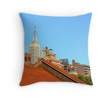 A City Of Contrasts Throw Pillow