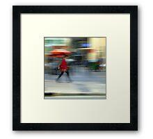 The Fashionista Framed Print