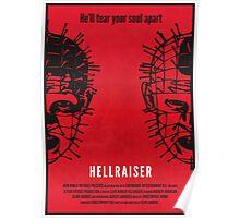Hellraiser Minimal Poster Redesign Poster