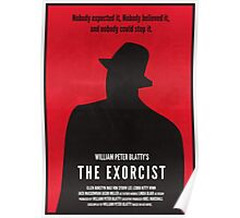 The Exorcist Minimal Poster Redesign Poster