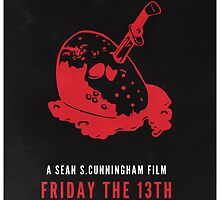 Friday The 13th Minimal Poster Redesign by johnhayward