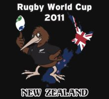 Rugby World Cup 2011 - All Blacks Kiwi by Richnroch