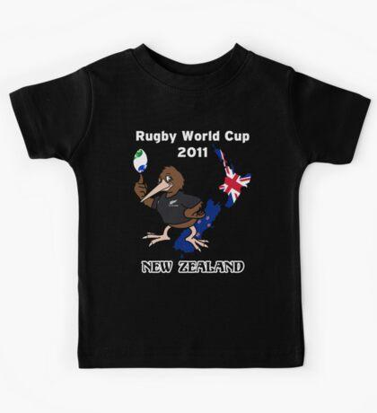Rugby World Cup 2011 - All Blacks Kiwi Kids Tee