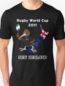 Rugby World Cup 2011 - All Blacks Kiwi T-Shirt