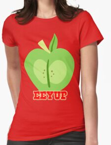 Big Macintosh: Eeyup Womens Fitted T-Shirt