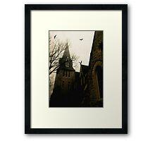 Gothic church © Framed Print