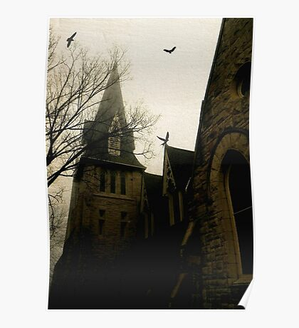 Gothic church © Poster