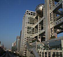 The TV  Building in Tokyo, Japan by Digital Editor .