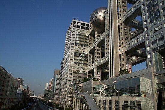 The TV  Building in Tokyo, Japan by Bruno Beach