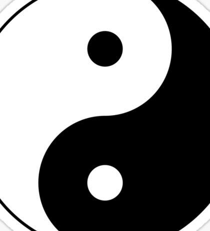 Ying Yang Symbol Sticker