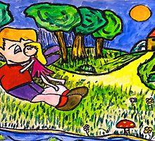 A Fairy Kilss by Monica Engeler