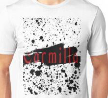 Carmilla- Splatter Effect Unisex T-Shirt